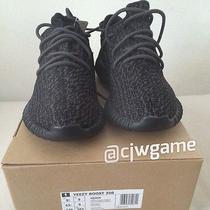 Adidas Yeezy Boost 350 Black Size 9.5  Photo
