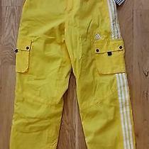 Adidas Yellow Snow Pants Medium. Nwt Photo