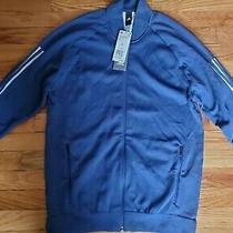 Adidas Zip Up Jacket Size Xl Mens  Blue  Photo