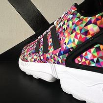 Adidas Zx Flux Prism Multicolor Sz 10.5 Bape 8000 Eqt Primeknit Stan Smith Boost Photo