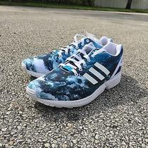 Adidas Zx Flux Wave Brand New Boost Yeezy Prism Photo