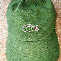 Adjustable Green Lacoste Hat Photo