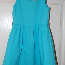 Adorable Aqua Blue  5-6 Years Spring Dress  Euc Photo
