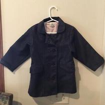 Adorable Baby Gap Girls Denim Double Breasted Long Coat Sz 3 Photo