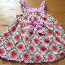 Adorable Baby Lulu Size 18 Months Multi-Colored Floral Sleeveless Dress Photo