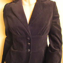 Adorable Black Guess Velvet Jacket Size M Photo