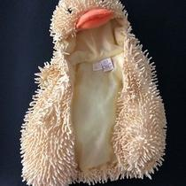 Adorable Boutique Fuzzy Fluffy Chick Duck Costume Halloween Nwot Size 6-9 Mo Photo