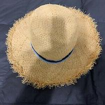 Adorable Boy's Toddler Gap Straw Hat - Size M//l 4-5 Years Guc Photo