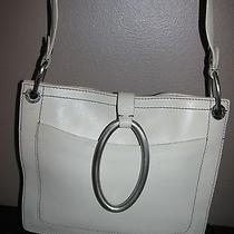 Adorable Dkny Off White Leather Handbagpurse Photo
