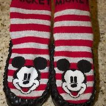 Adorable Infant Mickey Mouse No-Slip Soft Slipper / Shoes H & M Photo