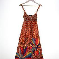 Adorable Shine Orange Dress Women's Size M (Ref Ll-722239044) Photo
