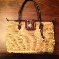 Adorable Straw Brighton Summer Purse. Photo