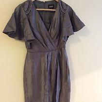 Adriana Pappell Chrome Dress Size2 Photo