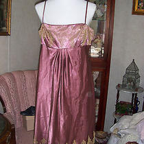 Adrianna Papell Gorgeous Short Formal Dress Homecoming Cocktail Sz 14 Photo