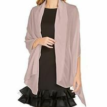 Adrianna Papell Scarves Blush Pink One Size Fits All Shawl/wrap 49 256 Photo