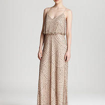 Adrianna Papell Sequin Blush Gown 6 Photo