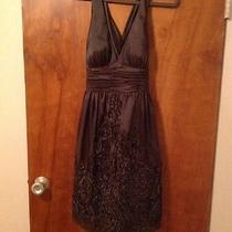 Adrianna Papell Taffeta Halter Dress (Nwt) Photo