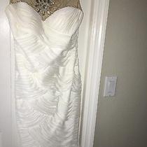 Adrianna Papell White Dress Photo