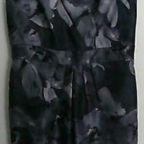 Adrianna Papell Women's Dress Petite-Size 6p-Gray Color-100% Polyester-Free Ship Photo