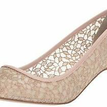 Adrianna Papell Women's Lois-Lc Pump Blush Valencia Lace Size 7.5 Photo
