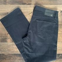 Adriano Goldschmied Ag Graduate Tailored Leg Chino in Black 34/31 Photo