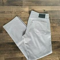 Adriano Goldschmied Ag Graduate Tailored Leg Chinos in Grey Size 34/31 Photo