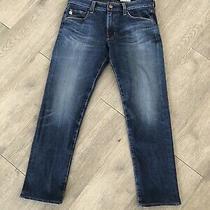 Adriano Goldschmied Ag Jeans Mens Size 31 the Tellis - Modern Slim Blue Denim Photo