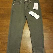 Adriano Goldschmied Ag Kids the Stella Super Skinny Grey Jeans Size 3t Nwt 55 Photo