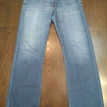 Adriano Goldschmied Mens Jeans Blue Size 32x32 Relaxed  Photo