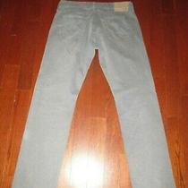 Adriano Goldschmied Mens Sz 31 X 32 Powder Blue the Graduate Tailored Leg Pants Photo