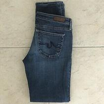 Adriano Goldschmied the Stevie Slim Straight Women's Blue Jeans Size 27r (29x29) Photo