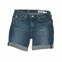 Adriano Goldschmied Women Blue Denim Shorts 26w Photo