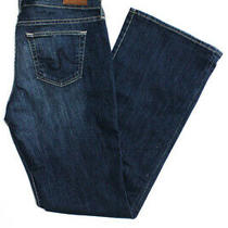 Adriano Goldschmied Womens Mid-Rise Jessie Curvy Boot Cut Jeans Blue Size 29 Photo