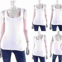 Adriano Goldschmied Womens Size L Stretch Cami Tank Top Pull Over Fitted Chop Photo