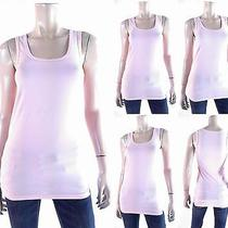 Adriano Goldschmied Womens Size M Stretch Cami Tank Top Pull Over Comfort Chop Photo