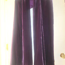 Adrienne Landau Velvet Wrap Scarf in Purple Nwt Photo