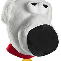 Adult Comedy Tv Show Family Guy Brian Griffin Pet Dog Costume Plush Headpiece Photo
