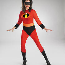 Adult  Disney Mrs Incredible Costume Fancy Dress New Dg6474 Photo