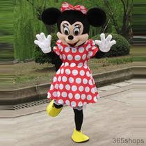 Adult Minnie Mouse Costume Mascot Cartoon Clothing Fancy Dress Suit Photo