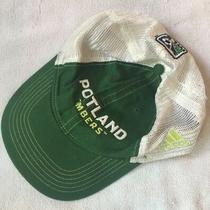 Adult Mls Unisex Cap Portland Timbers Net Adjustable Hat Green White Sport Golf Photo