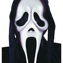 Adults Scream Movie Fancy Dress Costume Party Mask  Photo