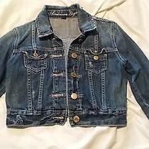 Ae American Eagle Outfitters Denim Jean Jacket Size Xs Distressed Look Photo