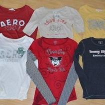 Aero American Eagle Tommy Cheshire Cat Long Sleeve Shirts Tshirts 6 Shirt Lot S Photo