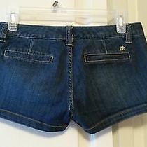 Aeropostal Juniors Jean Shorts Size 1/2  Photo