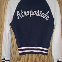 Aeropostale 87 Varsity Jacket Size Xs Track Baseball  Ath Crew Aeropostale Nyc Photo