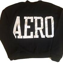 Aeropostale Aero Sweatshirt Small Black Photo