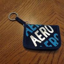 Aeropostale Aeropostale Dark Blue Id Keychain College License School Canvas Photo