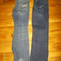 Aeropostale and American Eagle Bootcut  Size 8 Jeans  Photo