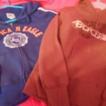 Aeropostale and American Eagle Hoodies Lot of 2 Photo