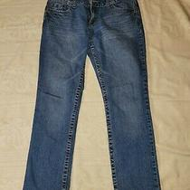 Aeropostale Bayla Skinny Womens Size 9/10 Short Juniors Denim Blue Jeans Photo